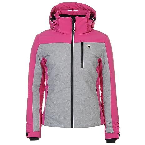 Nevica Womens Aspen Ski Jacket Coat Top Chin Guard High Neck