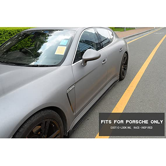 Amazon.com: Jcsportline Carbon Fiber Side Skirts fits Porsche Panamera 2010-2013: Automotive