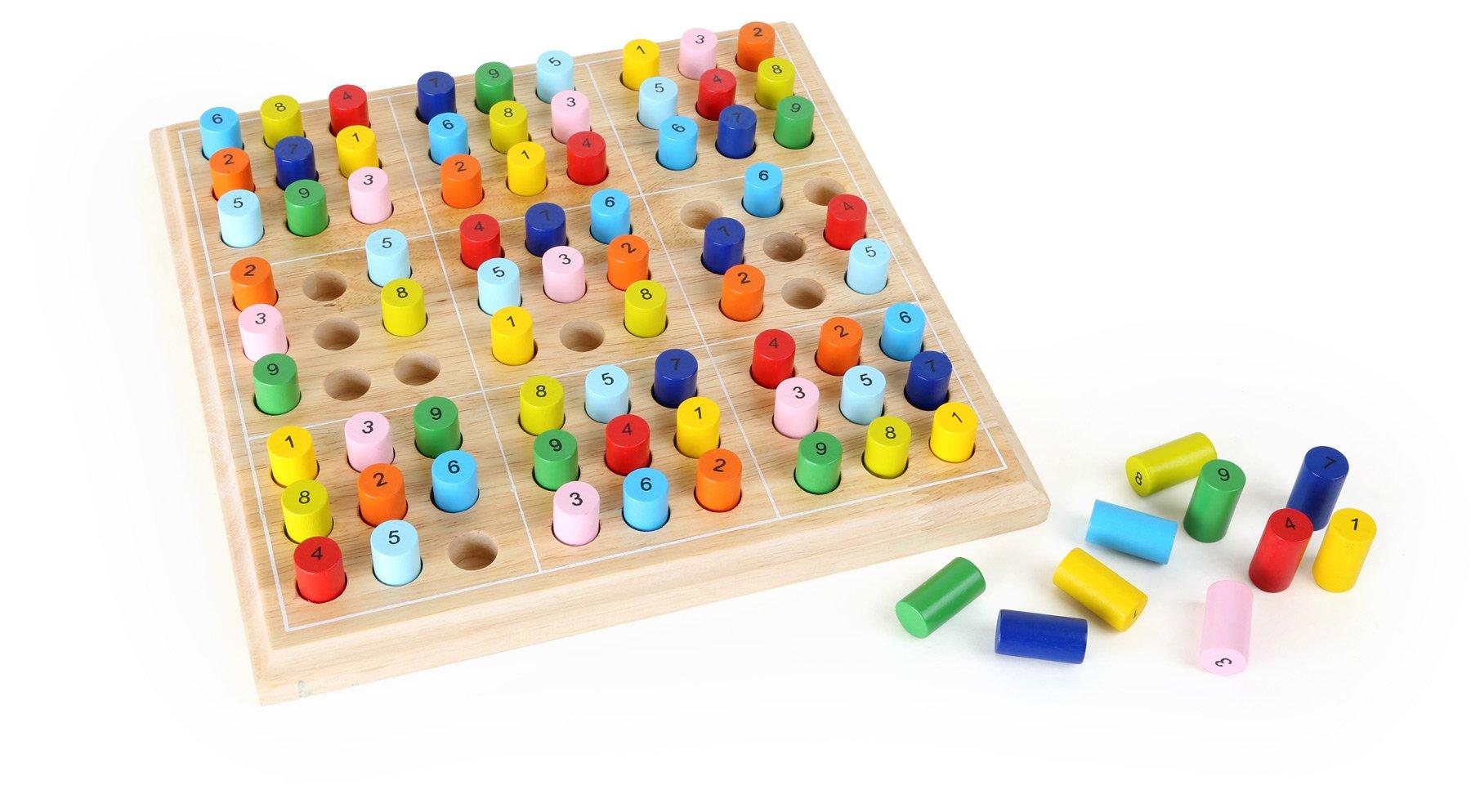 Legler Sudoku Coloured Educational Toy by Legler