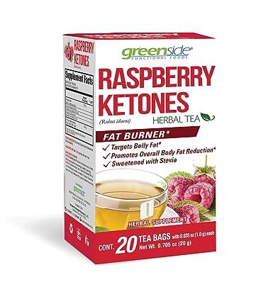 Amazon Com Greenside Raspberry Ketones Fat Burner Herbal Tea 20