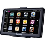 EasySMX 737 GPS Navegador 7 Pulgadas TFT LCD Pantalla Táctil Actualización Gratis de Mapa de Europa Multi-idioma GPS Compatible con Window XP