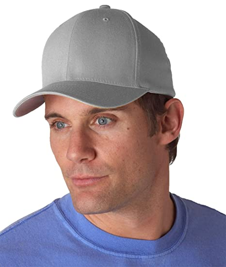 05f4005e3 6277 Flexfit Wooly Combed Twill Cap - Large/XLarge (Gray)