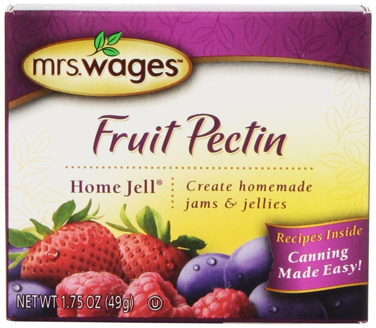 Mrs. Wages Fruit Pectin Home Jell (VALUE PACK of 12)