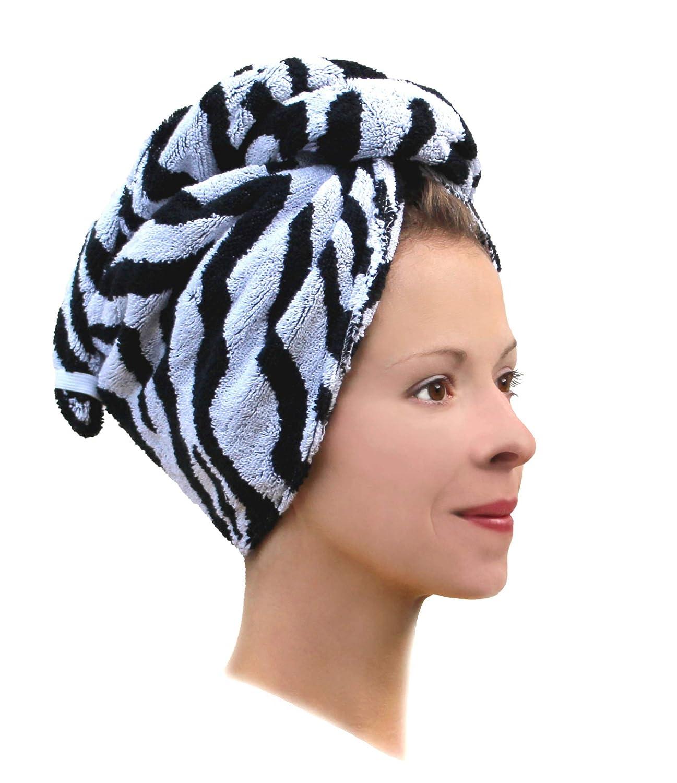 Haarturban Turban Gesicht Pad Bürste Haartrockentuch Kopftuch Schnelltrocknend