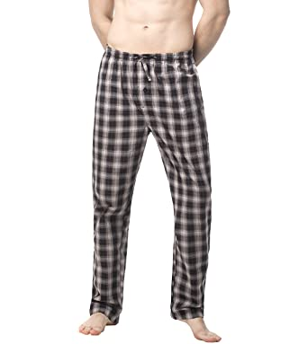 top fashion attractivefashion latest trends of 2019 LAPASA Men's Pyjama Bottoms Lounge Pants Woven Cotton Plaid Loungewear  Nightwear Trousers M38