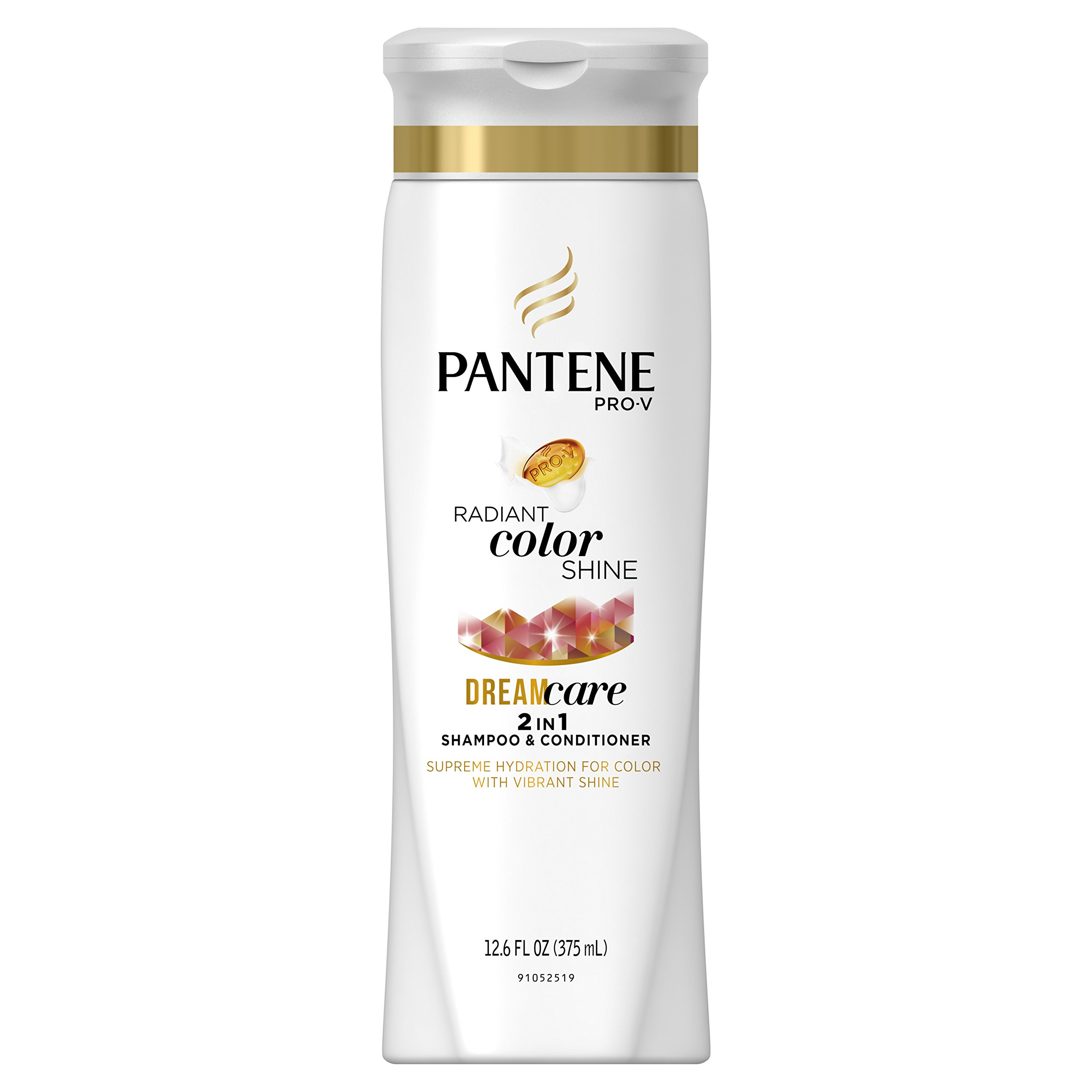 Pantene Pro-V Radiant Color Shine Dream Care 2in1 shampoo & Conditioner with vibrant shine 12.6 Oz