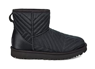 220ccf013a66 UGG Womens Classic Mini Quilted Satin Boot