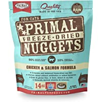 Primal Pet Foods Freeze-Dried Feline Chicken And Salmon Formula, 14Oz.