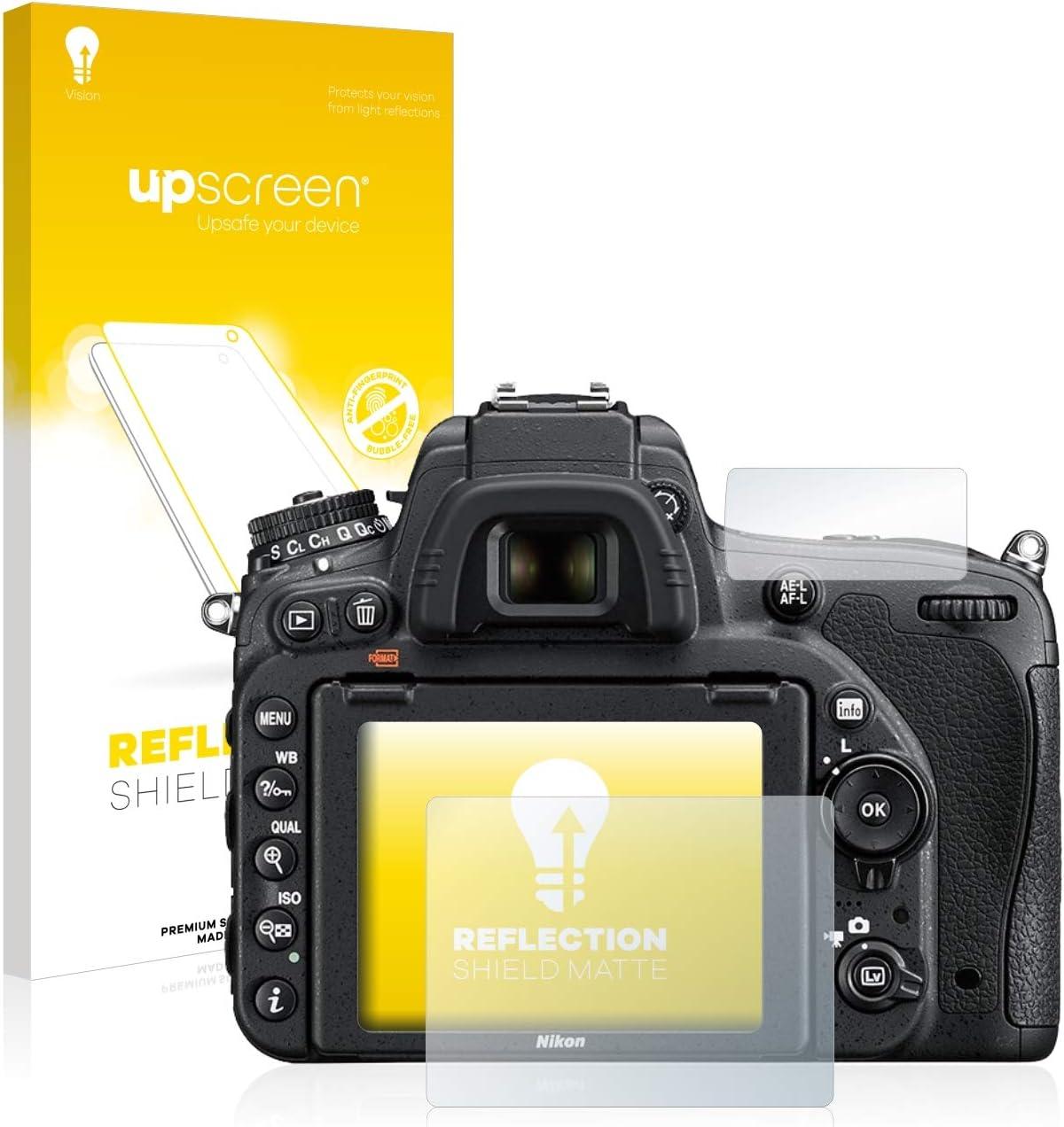 Anti-Reflex Displayschutz-Folie Matt upscreen Entspiegelungs-Schutzfolie kompatibel mit Nikon D750