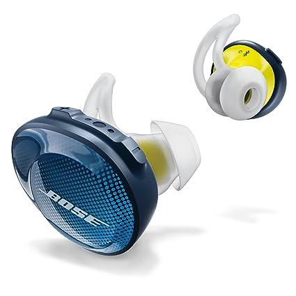 58ff030926b Amazon.com  Bose SoundSport Free Truly Wireless Sport Headphones - Midnight  Blue   Citron  Electronics