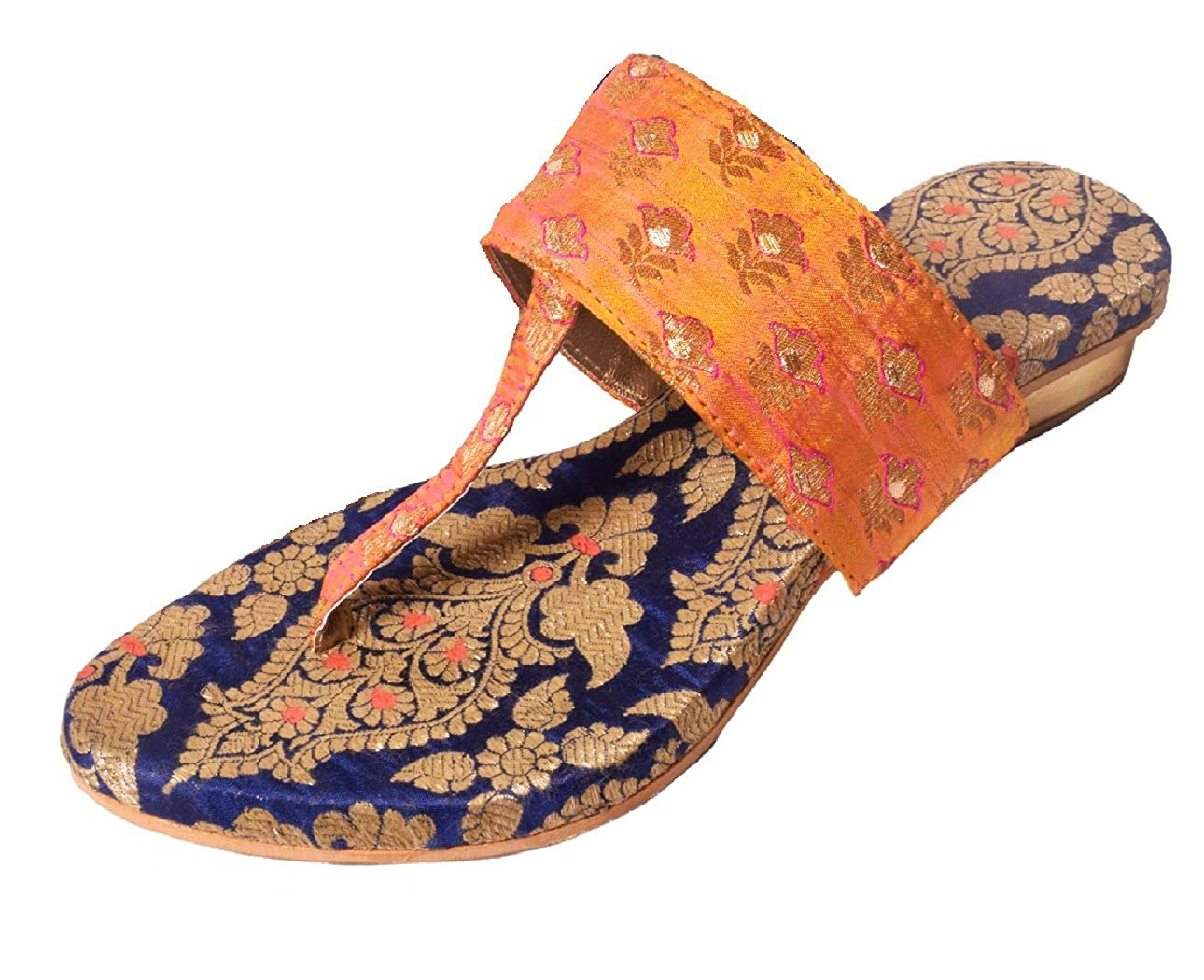 71456c8be89cb Samayra Women s Multi Colour Fabric Fashion Sandals 11 UK  Buy Online at  Low Prices in India - Amazon.in