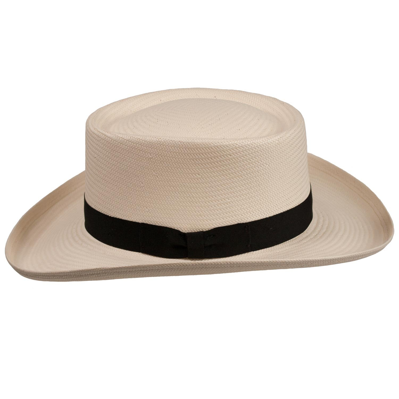 3db560a9348 Atlantic Gambler Panama Straw Hat (Large (fits 7 1 4 to 7 3 8 ...