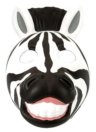 Wild Republic - Grinimals, máscara careta de cebra para niños y adultos (14277)