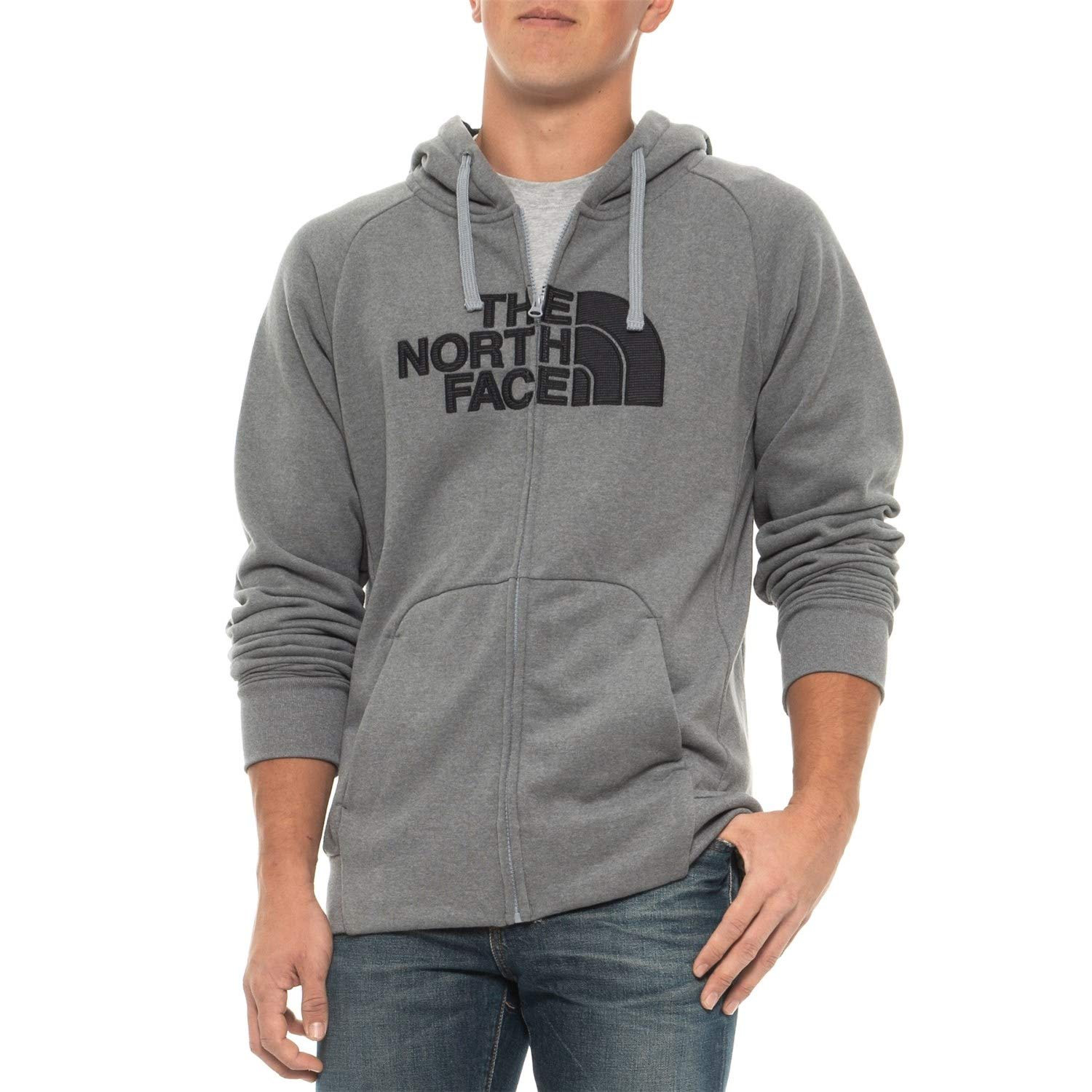 1c3bc3230 The North Face Men's Avalon Half Dome Full Zip Hoodie Sweatshirt