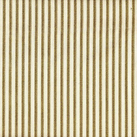 French Country Ticking Stripe Chartreuse Green Tailored Euro Shams Set Of Three Lined Cotton