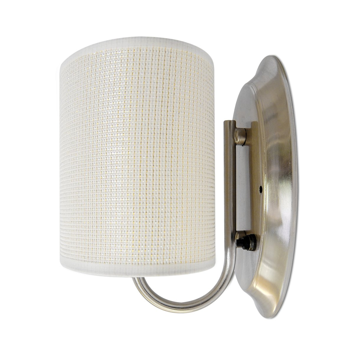 Dream Lighting New Version 12v Fabric Light Fixture With Flared Wall Sconce Shade Mount Led