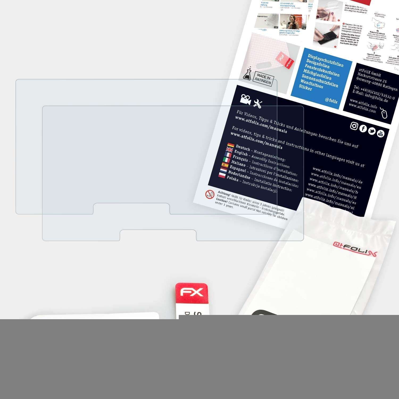 atFoliX L/ámina Protectora de Pantalla Compatible con Alpine iLX-700 Pel/ícula Protectora Ultra Transparente FX L/ámina Protectora 2X