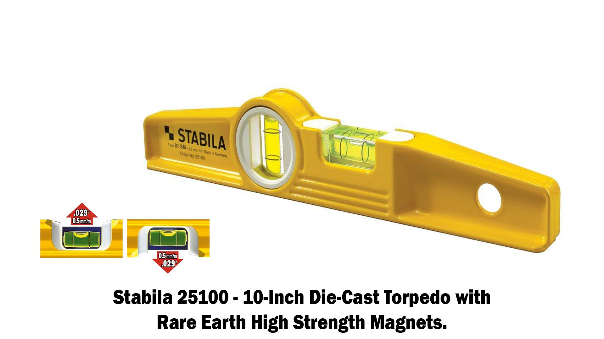 Stabila 196 Level Set Kit - 78''/58''/32''/24''/16'' Torpedo and Case by Stabila (Image #7)