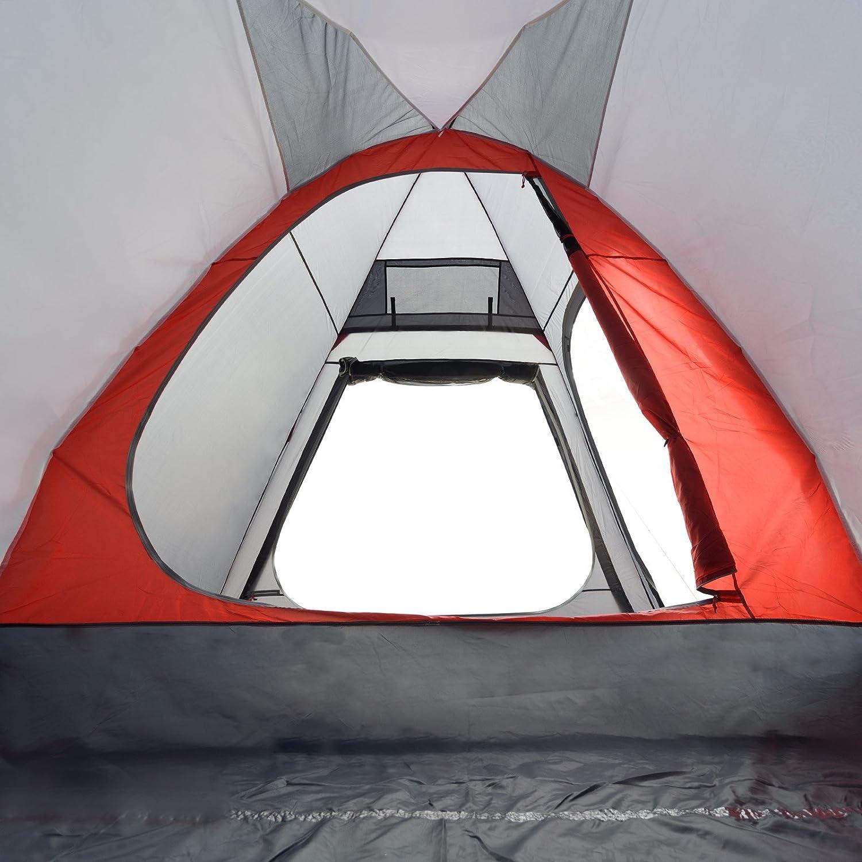 JUSTCAMP Newport 3 Tente de Camping 3 Personnes 350 x 270 x 210 cm