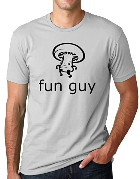5dbf2f581 Amazon.com: Think Out Loud Apparel Funguy Funny Mushroom Tee Fun Guy ...