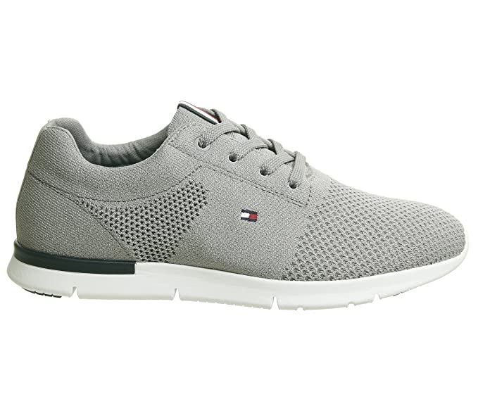 : Tommy Hilfiger Tobias Mens Sneakers Grey: Clothing