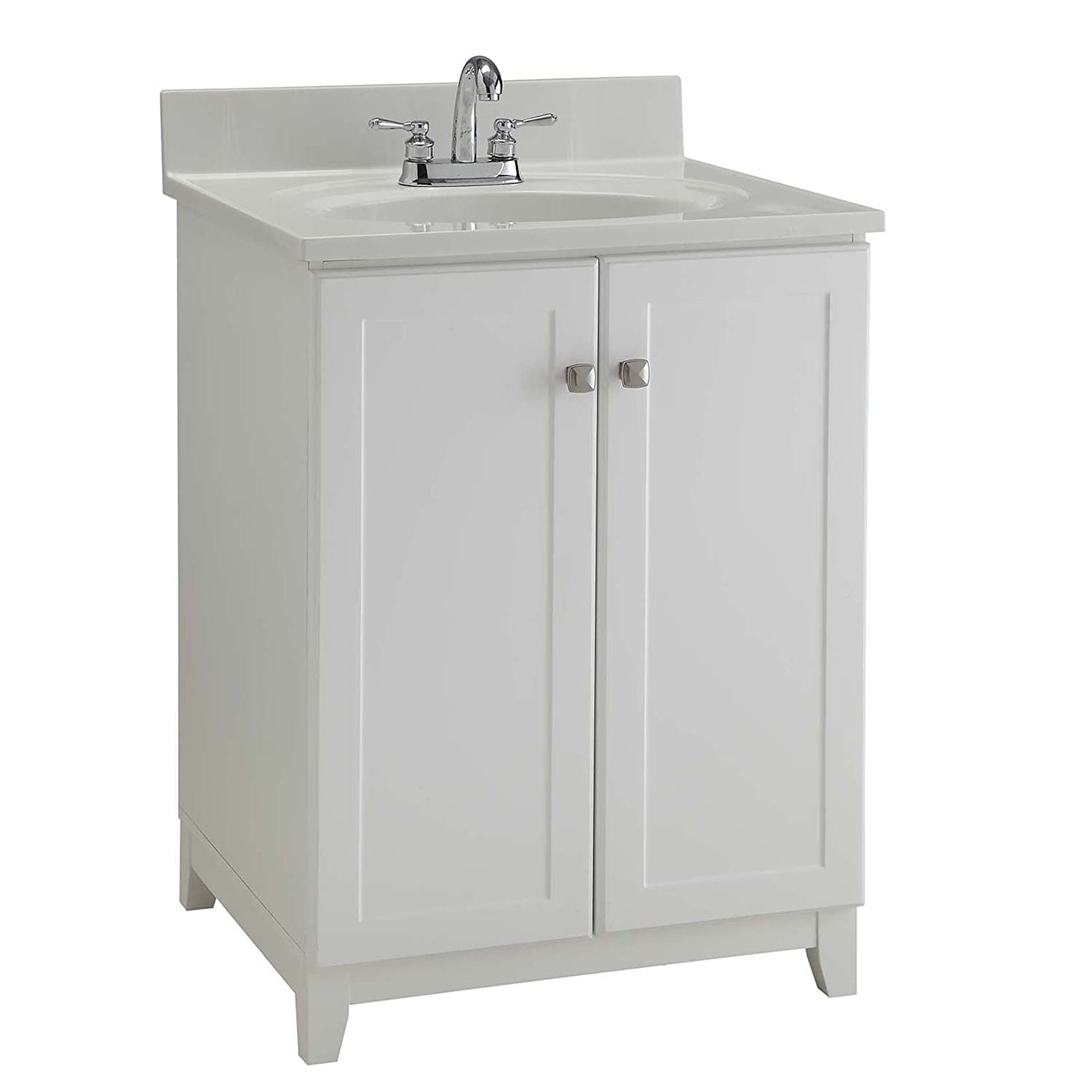 Design House 547117 Furniture-Style Vanity Cabinet, 24-Inches By 21 ...