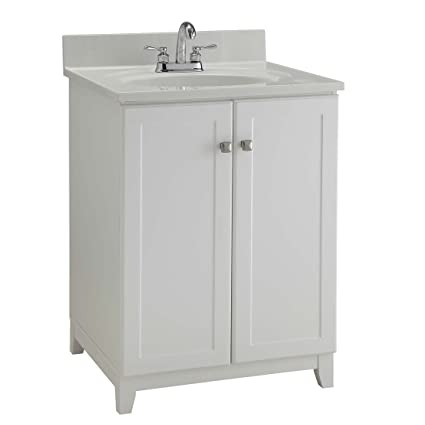 Design House 547117 Furniture-Style Vanity Cabinet 24-Inches By 21-Inches  sc 1 st  Amazon.com & Design House 547117 Furniture-Style Vanity Cabinet 24-Inches By 21 ...