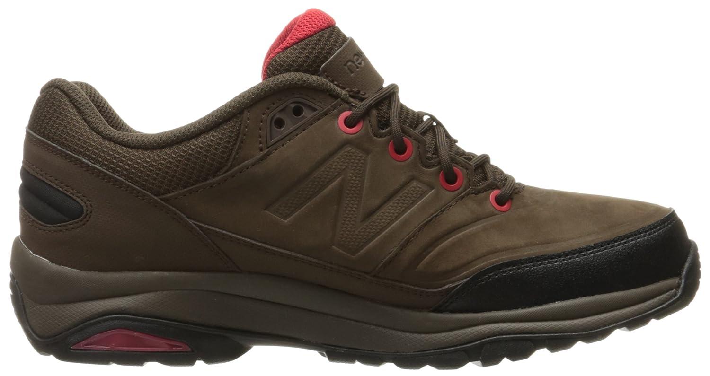 New Balance Men's 1300 Trail Walking Shoe B01IJUXWYS 9 2E US|Brown/Red