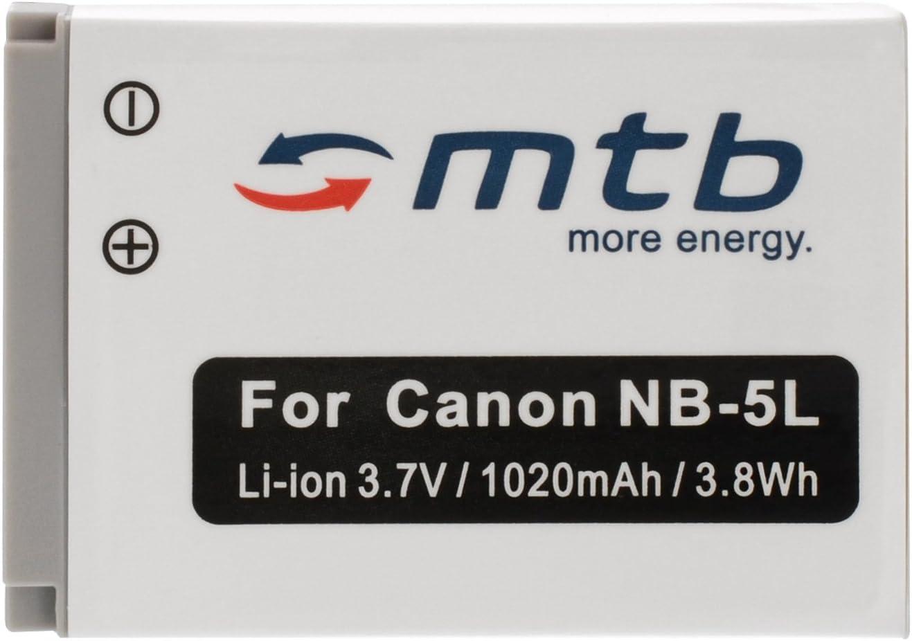 Ersatz Akku Nb 5l Für Canon Powershot Sx200 Is Sx210 Kamera