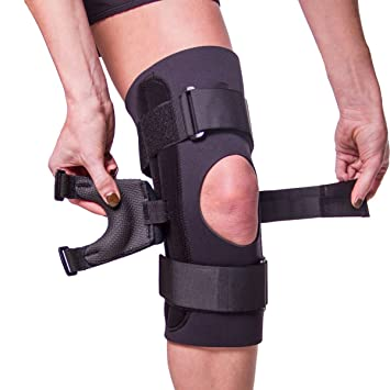 b9e9be2f7d J Brace Patella Stabilizer   Lateral J-Strap Knee Support for Subluxation,  Dislocation,