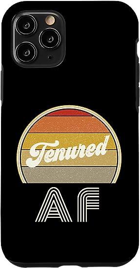 iPhone 11 Pro - Tenured AF Black Case