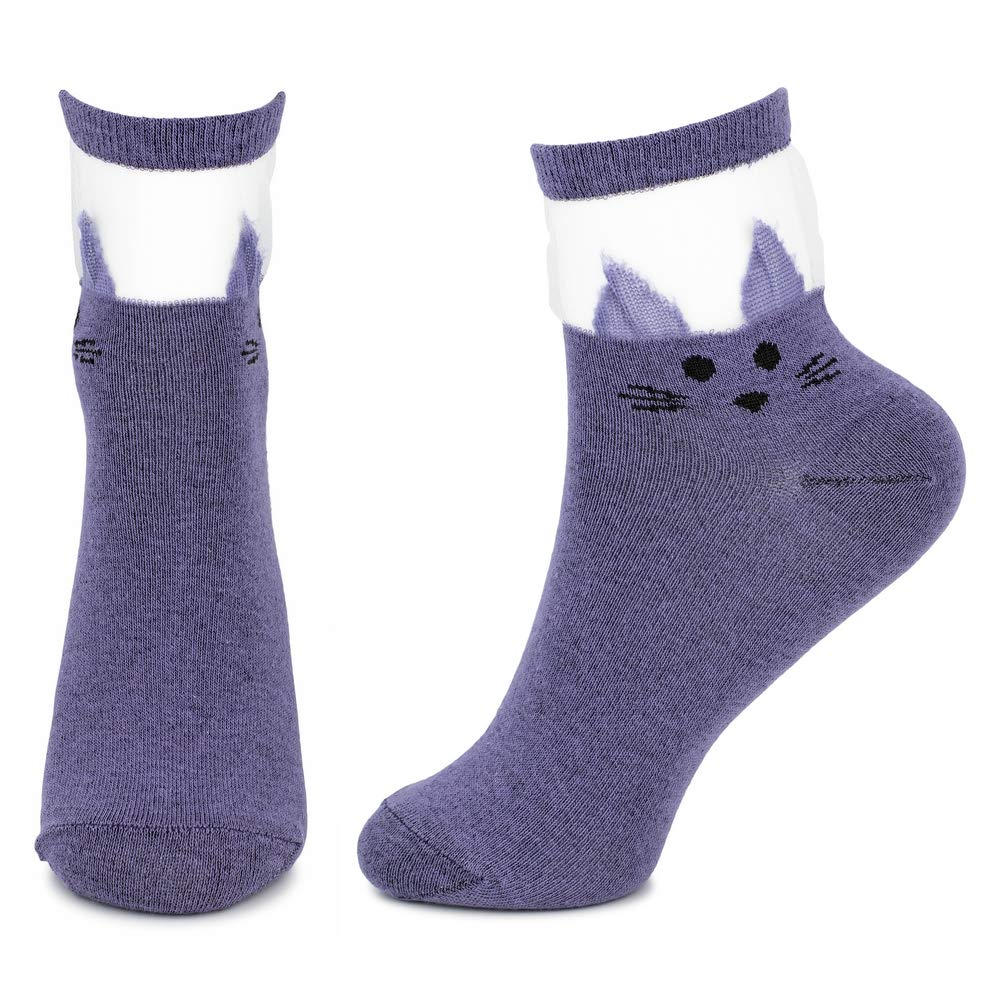 Socks Knee High Grey Argyll Made With Cotton /& Polyester by JOE COOL