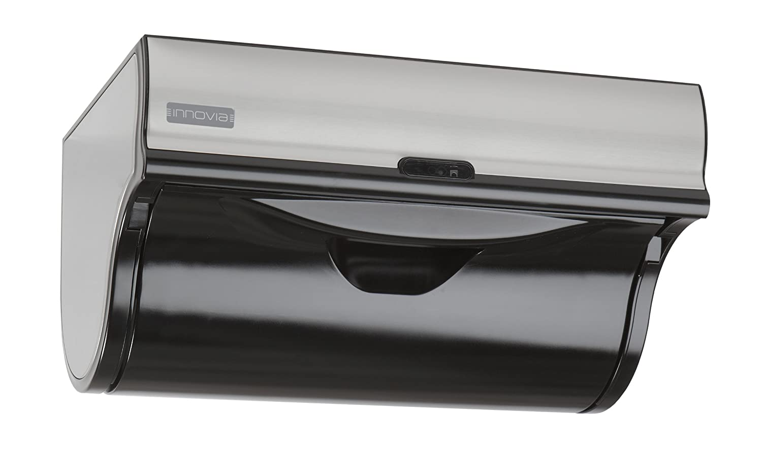 Automatic paper towel dispenser for home - Amazon Com Innovia Wb2 159b Automatic Paper Towel Dispenser Black Kitchen Dining