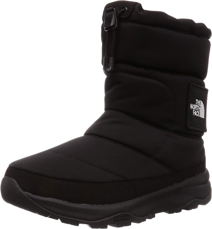 [ザノースフェイス] ブーツ ヌプシ ブーティー ウォータープルーフ VI ロゴ ブラック