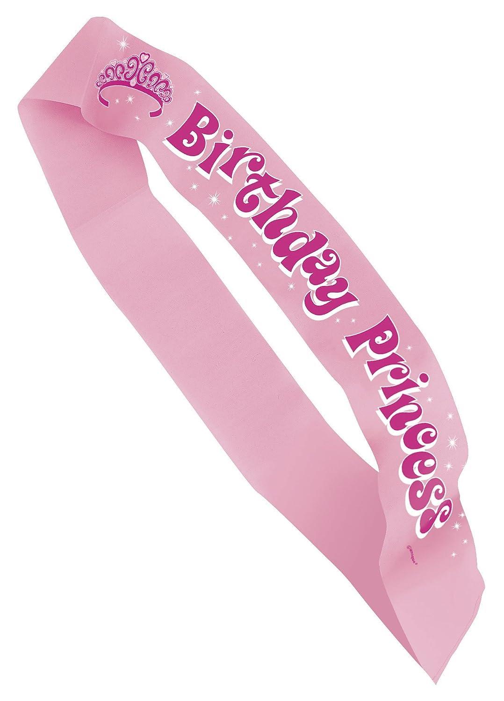USA Produkt - Party Sash 14 X3-1 / 2 X1 / 4 1/PkBirthday Princess