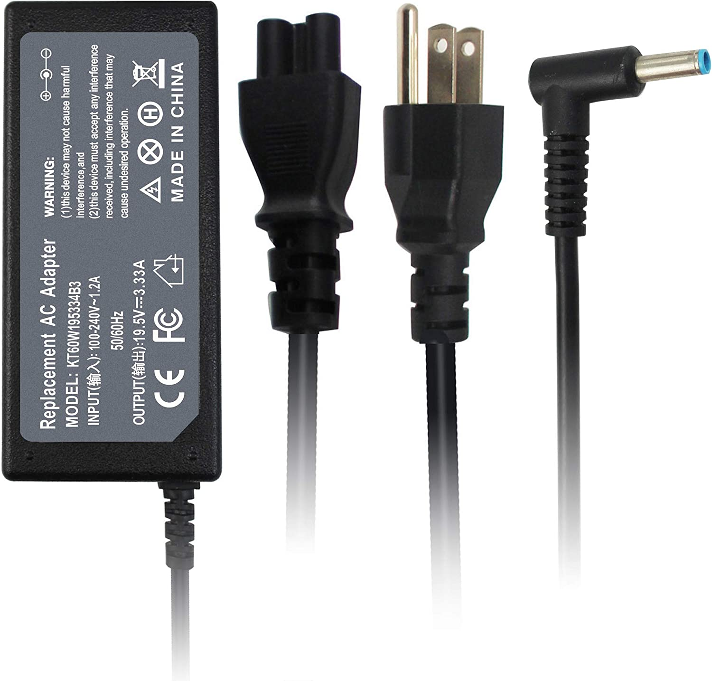 Shareway 65W AC Adapter Power Charger for HP Chromebook 14-Q020NR 14-Q010NR 14-Q030NR 14-Q039WM, Hp Envy Touchsmart 14-k00tx 14-k002tx, HP Pavilion Sleekbook 14-b000