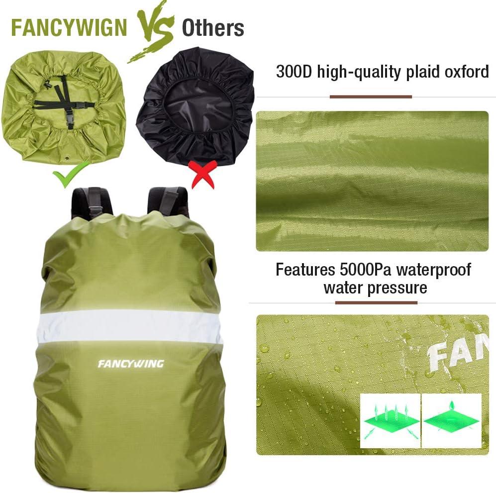 Reflective Rucksack Backpack Cover Waterproof Cycling Running Bag Rain Cover