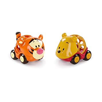 2 Pack Oball Disney Go Cars Toy Story  OR  Winnie The Pooh//Tigger