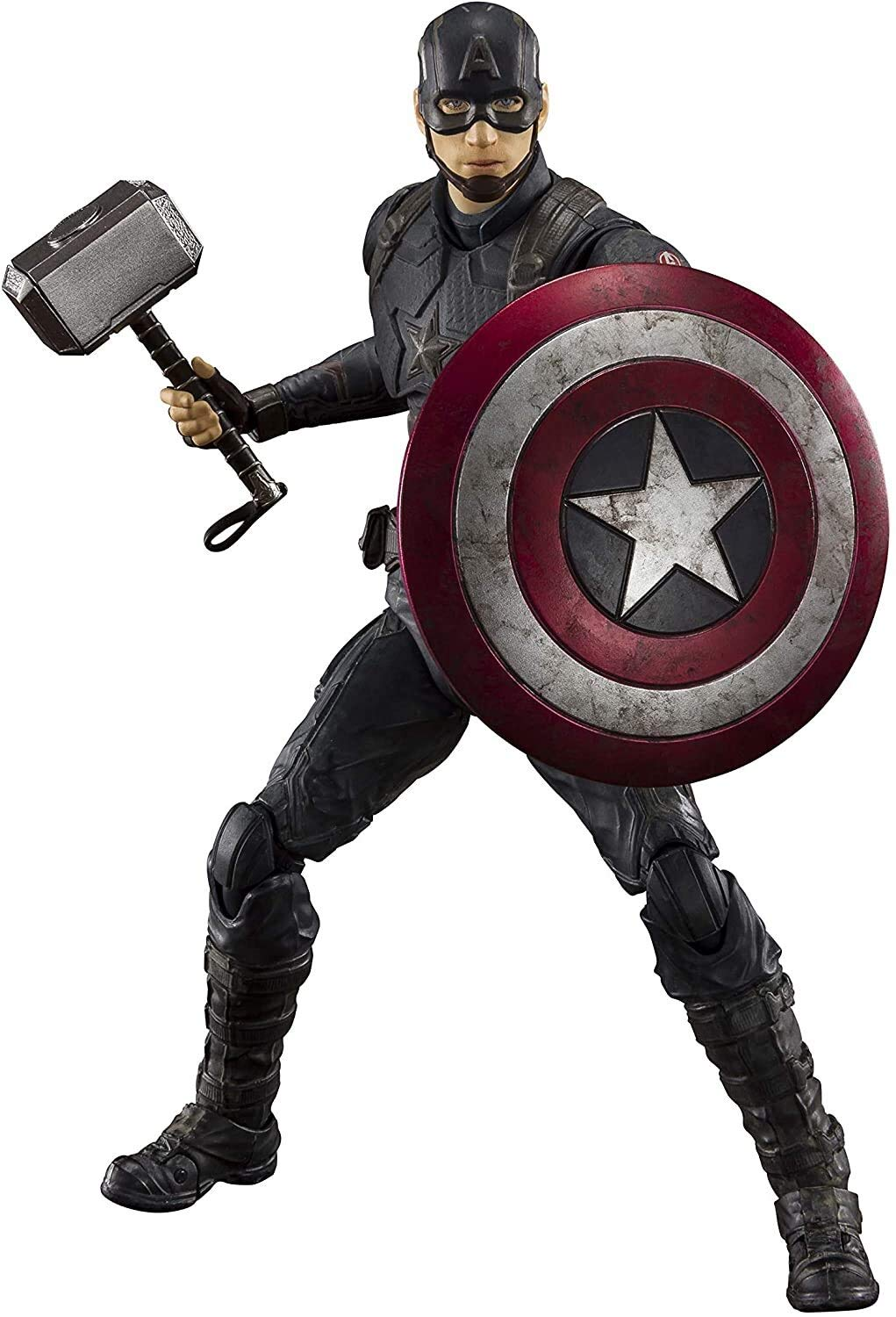 TAMASHII NATIONS S.H. Figuarts Captain America -Final Battle Edition - Avengers: Endgame, Multi, Approx. 150 mm