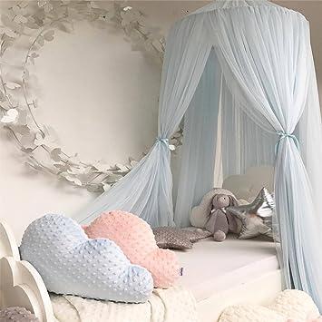 Uberlegen L Y Jungen Mädchen Kinder Prinzessin Baldachin Bett Volant Kinder Zimmer  Dekoration Baby Bett Runde Moskitonetz Zelt