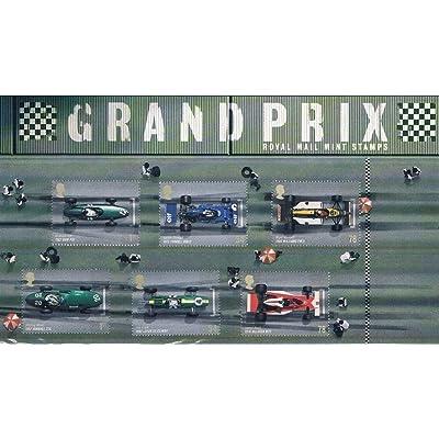 2007Grand Prix Automobile de timbres de présentation lot