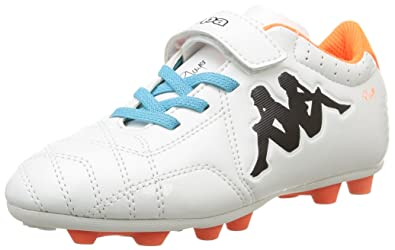 f909968208ee4 Kappa Boys  4Soccer Player Fg Football Boots White Size  1 UK