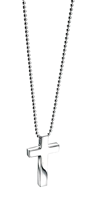 Fred bennett sterling silver mens small cross pendant of length 51cm fred bennett sterling silver mens small cross pendant of length 51cm mozeypictures Choice Image