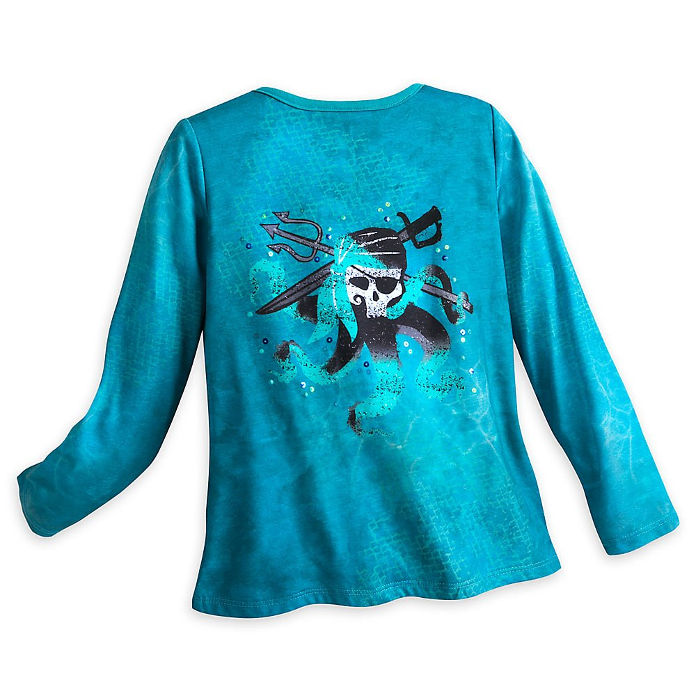 Disney Uma Cardigan for Girls - Descendants 2 Size 7/8 Blue by Disney (Image #2)