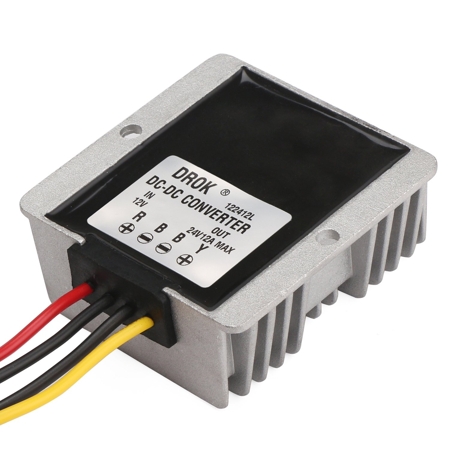 Drok Waterproof Dc Boost Converter 12v To 24v Dcdc Converters Power Content From Electronic Design Electronics