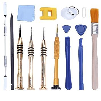 UKCOCO 15pcs/Pack Kit de herramientas de reparación profesional de ...