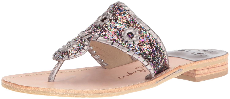 Jack Rogers Women's Cleo Dress Sandal B01I6M6SOU 7 M US|Multi/Pewter