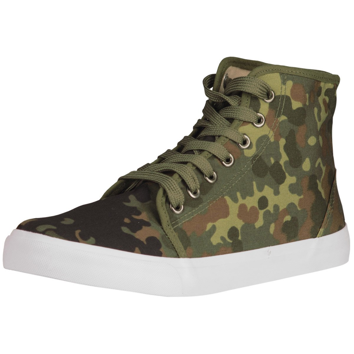 Mil-Tec Men's Army Sneaker Flecktarn size 9 UK / 10 US