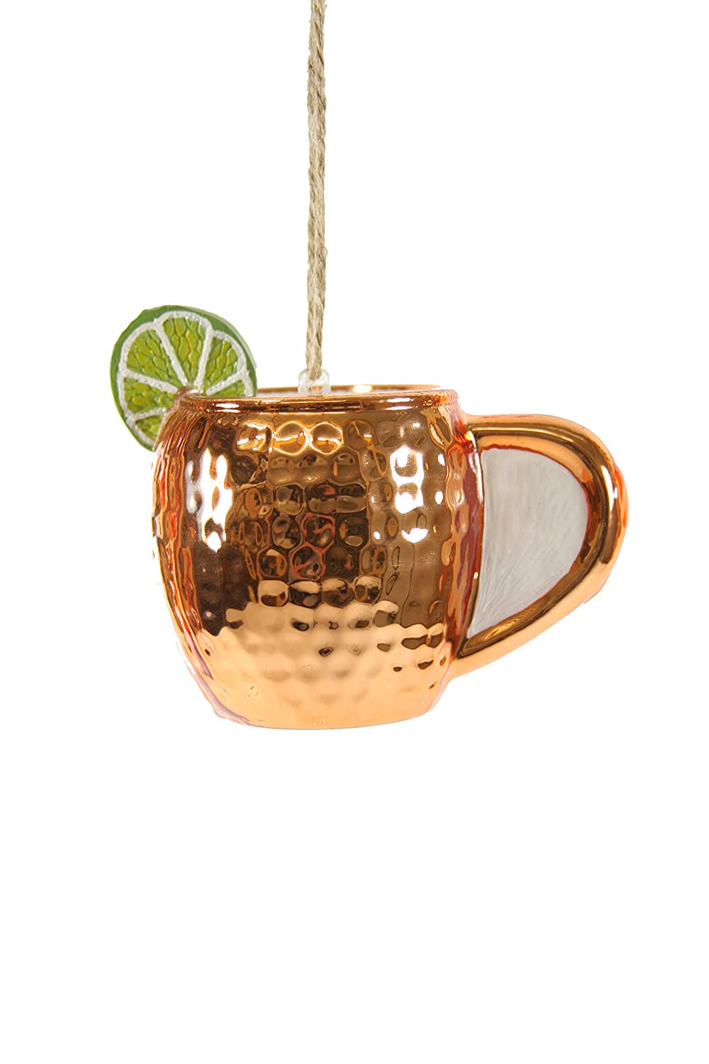 Cody Foster /& Co Moscow Mule Mug Glass Hanging Ornament