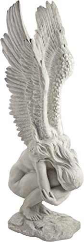 Design Toscano NE867229 Remembrance and Redemption Angel Garden Statue